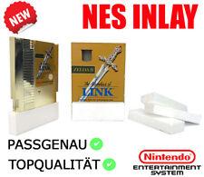 Ersatz Styroporinlay/ Insert f.Nintendo Entertainment System/ NES Spiele OVP NEU