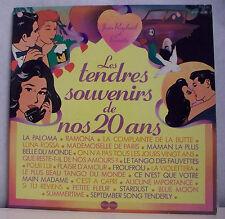 """2 X33 tours Jean RAPHAEL & RENATA Vinyles LP 12"""" TENDRES SOUVENIRS DE NOS 20 ANS"""