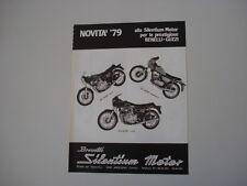 advertising Pubblicità 1979 SILENTIUM e MOTO BENELLI SPORT 354/125/504