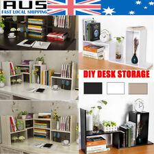 DIY Table Desktop Storage Rack Display Shelf Organizer Counter Top Bookshelvs AU