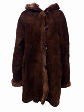 Tuzzi Women's Shearling Long Coat with Hood TWC809310, Small $3,200