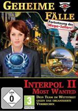 Geheime Fälle: Interpol II - Most Wanted PC Neu & OVP