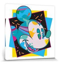 Micky Maus - Miami Walt Disney Poster Leinwand-Druck Bild (40x40cm) #115445