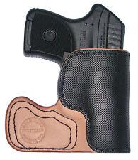Worlds Best Pocket Holster, Pocket Grabber, 100% USA Made Top Quality, Leather