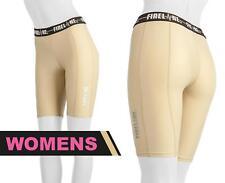 Womens Short Compression Tights Footy Netball Football Shorts FREE Sports Socks