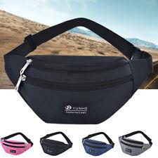 Mens Womens waist Pack Waist Hip Belt Bag Purse Pouch Pocket Travel Sport Bags