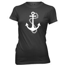 Anchor Sailor Womens Ladies Funny T-Shirt