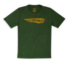 DUCATI SCRAMBLER WHEELIE kurzarm T-Shirt oliv grün NEU 2018 !!