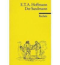 Der Sandmann, Good Condition Book, E T A Hoffmann, ISBN 9783150002308