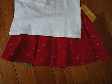 >>STUNNING OSH KOSH GIRLS VALENTINE HOLIDAY RED SKIRT TOP SHIRT 7 8 6 TWINS!