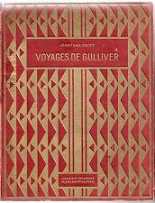 JONATHAN SWIFT VOYAGES DE GULLIVER ILLUSTRATIONS DE JOB 1936