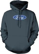 Ford Logo Mustang American Classic Shelby Saleen Racing Muscle Mens Sweatshirt