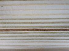 PORTER & STONE CUT Velluto Ciniglia A Strisce facciata / Tappezzeria / Craft tessuto crema