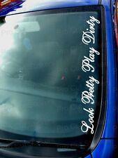 Joli jouer sale drôle personnalisé voiture fenêtre pare-chocs stickers autocollants jdm ref:1