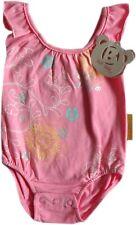 Baby Girls Pink Cotton Swimming Costume Swimsuit AgeN/B 3 Months 6 Months