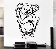 Wall Decal Koala Animal Eucalyptus Australia Marsupials Vinyl Stickers (ed260)