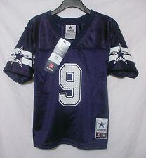 NWT New TONY ROMO 9 Dallas Cowboys MESH Football Jersey Youth Toddler Sz 4 5/6 7