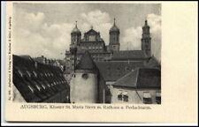 Augsburg AK ~ 1900 Monastery of Saint Maria Star PERLACH-Tower