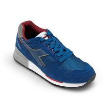 Scarpe Sneaker Uomo DIADORA Modello I.C 4000 NYL II Estate Blue / Chili Pepper