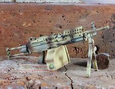 MK46 Mod 0 1:6 Figure Para Stock Camouflage M249 Light Machine Gun Model MK46_B