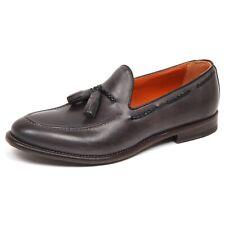 E6650 mocassino uomo grey ALTIERI MILANO scarpe vintage loafer shoe man