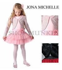 Jona Michelle Girls Dress with Cardigan