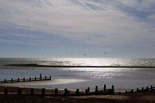 Angmering on Sea beach Littlehampton Sussex UK photograph picture poster print
