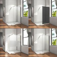 Walk in Duschtrennwand 8/10mm NANO-Glas Duschabtrennung Duschkabine Duschwand