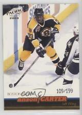 1999-00 Pacific Gold #21 Anson Carter Boston Bruins Hockey Card