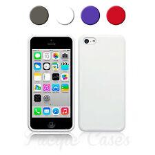 Coque étui housse pour iPhone 5c en plastique souple couleur au choix + stylet