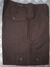 MARRÓN Estilo Militar Camuflaje Militar/Utilitario/Guerrera Pantalón Talla