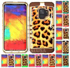 for Samsung Galaxy S9 & Plus KoolKase Hybrid Cover Case - Crystal Leopard 13