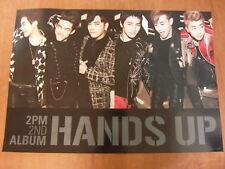 2PM - Hands Up 2nd Album [OFFICIAL] POSTER *NEW* K-POP