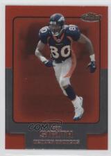 2006 Topps Finest #89 Rod Smith Denver Broncos Football Card
