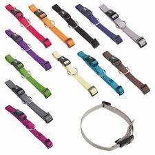 Nobby Halsband CLASSIC XXS/XS-S/S-M/M-L/L-XL alle Farben - Nylon Hundehalsband