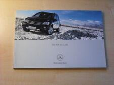 25378) Mercedes M-Klasse engl. Prospekt 2005