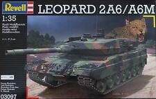 KIT REVELL 1:35 KIT DA MONTARE CARRO ARMATO LEOPARD 2A6/A6M   03097