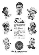 OMAGGIO, vintage pubblicità del tabacco, Poster riproduzione.