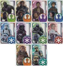 Topps Star Wars Rogue One Halbtransparente Cap Karten Einzelauswahl 193-202 Neu