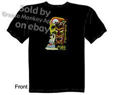 Hula Girl Tiki T shirt, Tattoo Shirt, Kustom Kulture Tee, Sz M L XL 2XL 3XL