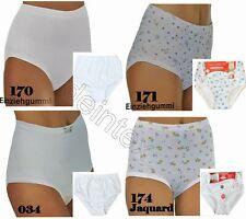NEU Übergröße 4 Stück Damen Slips mit Bauchweg Funktion in pink weiß Gr.64//66