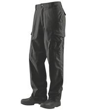 Mens Tru-Spec 24-7 Ascent 80/20 Poly/Cotton Micro RipStop Pants - Black & Khaki
