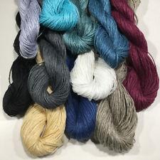Flax Yarn, DK Weight, 50 Grams, Crochet, Knitting, Weaving, 11 Colors