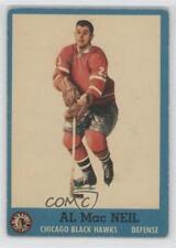 1962-63 Topps #32 Al MacNeil Montreal Canadiens Hockey Card