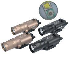 Hunting Aluminum X300V Flashlight LED Lights with IR Fit 20mm Weaver Rail Hot
