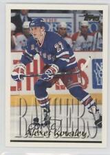 1995-96 Topps #90 Alex Kovalev New York Rangers Hockey Card