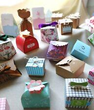 24x Gastgeschenk Hochzeit Taufe Baby Kummunion Geschenkbox Schachtel