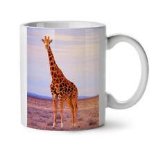 Tall Giraffe Panorama Africa NEW White Tea Coffee Mug 11 oz | Wellcoda