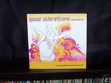 VARIOUS GOOD VIBRATIONS FESTIVAL 04 - ULTRA RARE AUSTRALIAN SAMPLER CD NM