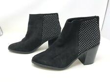 Womens Madden Nyc (02J1) Rain Black High Heel Ankle Boots (428G)